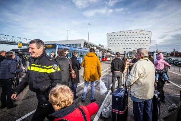 Bommelding Eindhoven Airport 1