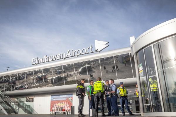 Bommelding Eindhoven Airport 2
