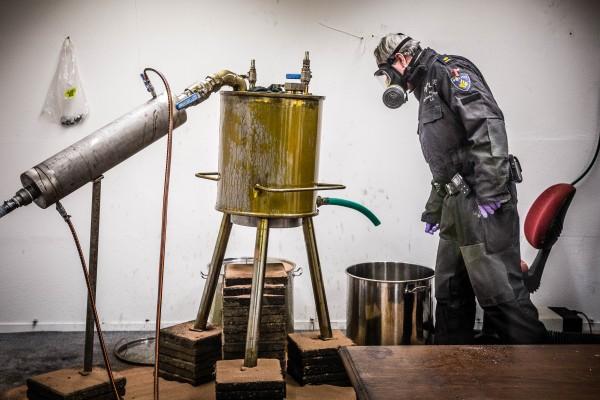 Drugslab ontmanteld in Eindhoven