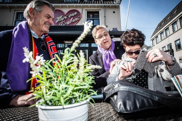 50Plus voorman Henk Krol flyert in Den Bosch